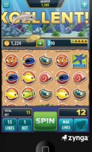 Mobile Zynga Slots Game