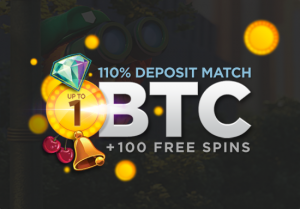 Get your 110% bonus + 100 FREE spins now!