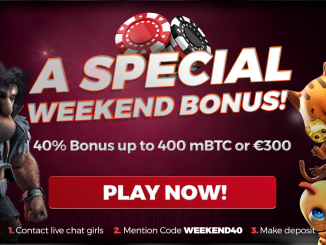 mBit Casino Weekend Bonus!