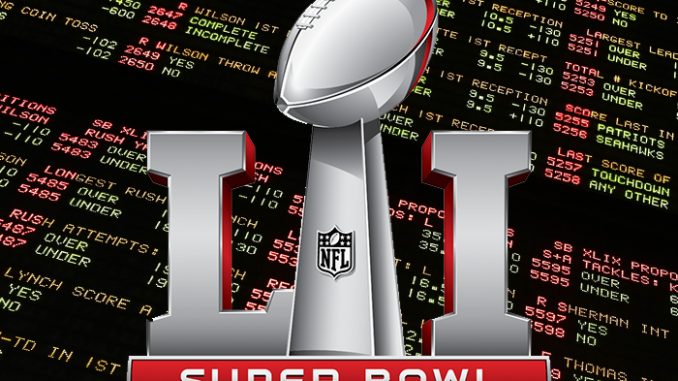 Betting Super Bowl 51