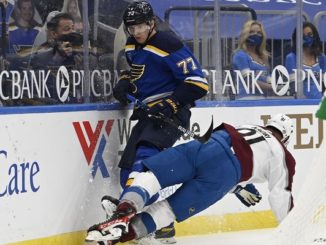 St. Louis Blues at Colorado Avalanche Game 1 Betting Preview