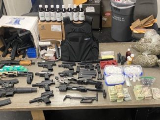California Police Raid Illegal Gambling Joint, Seize Ammo, Cash, Drugs and Gambling Machines